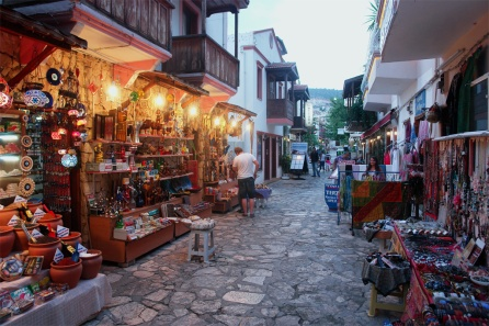 Kalkan shopping