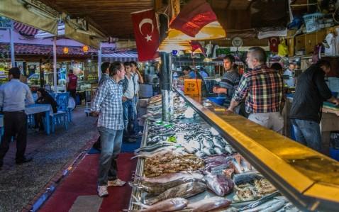 Fresh-seafood-Fethiye-Fish-Market